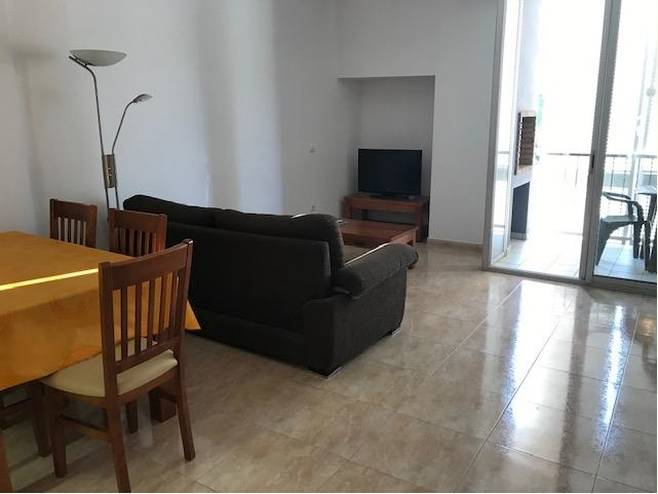 Magnificent duplex with furniture and appliances in Colera, with air conditioning